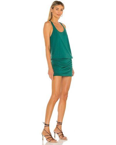 Платье макси длинное - зеленое Michael Stars