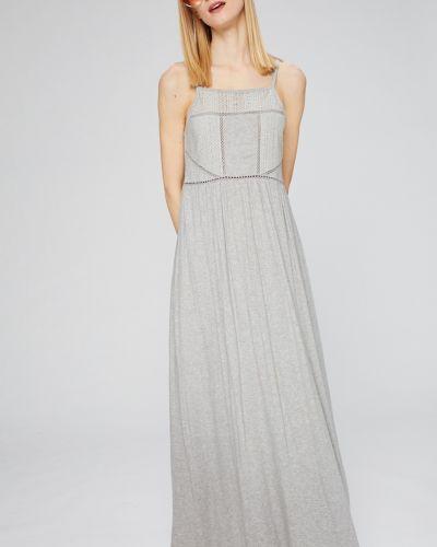 Платье макси из вискозы однотонное Roxy
