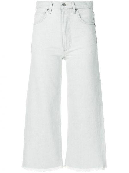 Укороченные джинсы серые Citizens Of Humanity