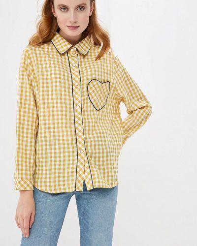 Желтая рубашка с длинным рукавом Sister Jane