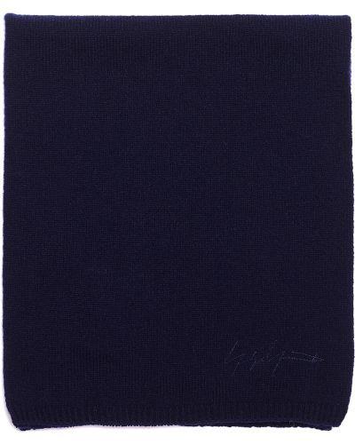 Вязаный шарф с вышивкой Yohji Yamamoto