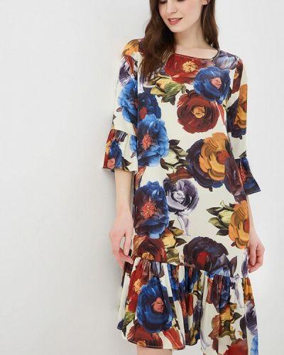 Повседневное платье весеннее бежевое Madam T