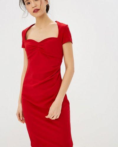 Вечернее платье красный City Goddess