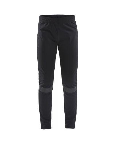 Облегающие черные брюки для бега Craft