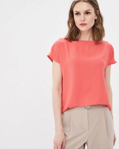 Блузка с коротким рукавом коралловый весенний Vittoria Vicci