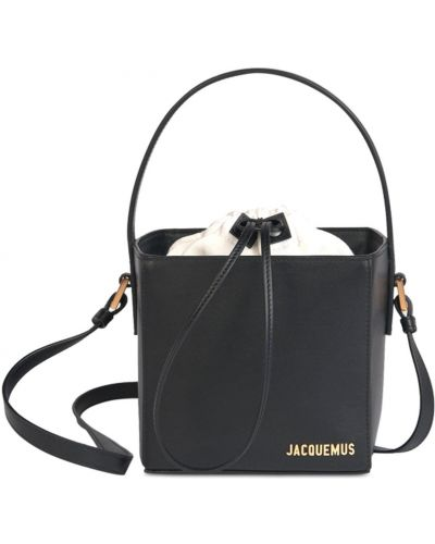 Кожаная сумка - черная Jacquemus