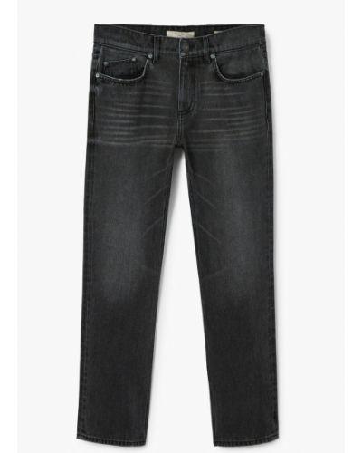Прямые джинсы делаве на пуговицах Mango Man