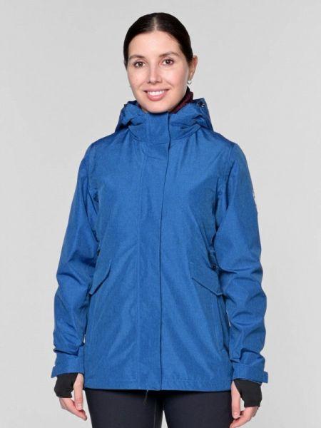 Синяя облегченная куртка Snow Headquarter