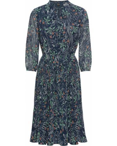 Платье плиссированное расклешенное Bonprix