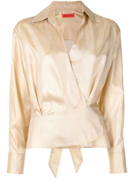 Шелковая блузка Manning Cartell