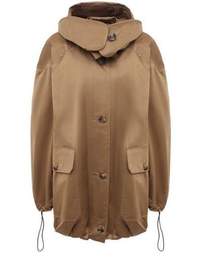 Хлопковая куртка - бежевая Jw Anderson