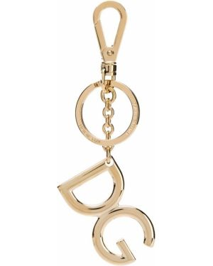 Брелок металлический золотой Dolce & Gabbana
