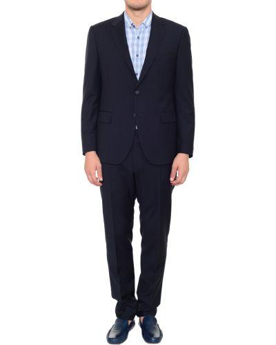 Шерстяной костюм - черный Corneliani