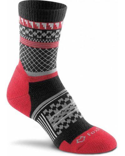 Черные шерстяные спортивные носки Foxriver