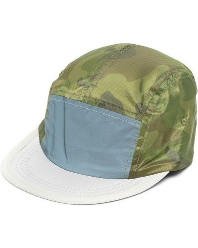 Zielona czapka do biegania z nylonu Satisfy