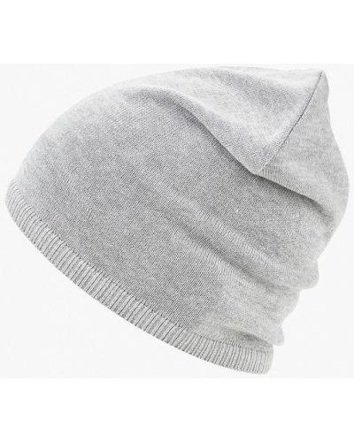 Серая шапка осенняя Sela