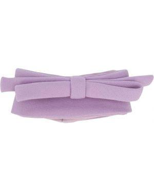 Фиолетовый галстук Miu Miu