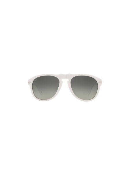 Białe okulary Persol