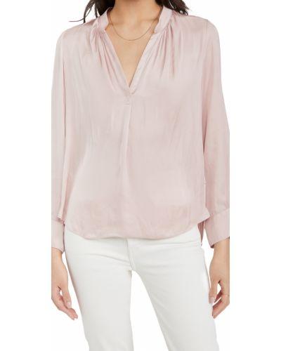 Блузка с длинными рукавами с декольте с манжетами Zadig & Voltaire
