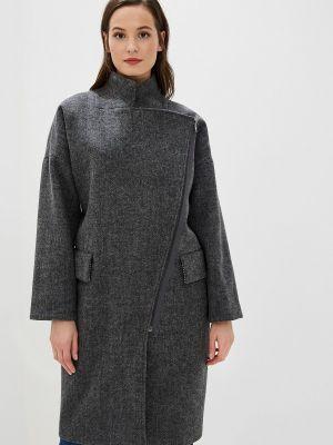 Зимнее пальто серое пальто Ruxara