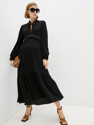 Черное весеннее платье Dorothee Schumacher