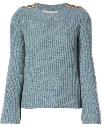 Синий свитер в рубчик Vanessa Bruno