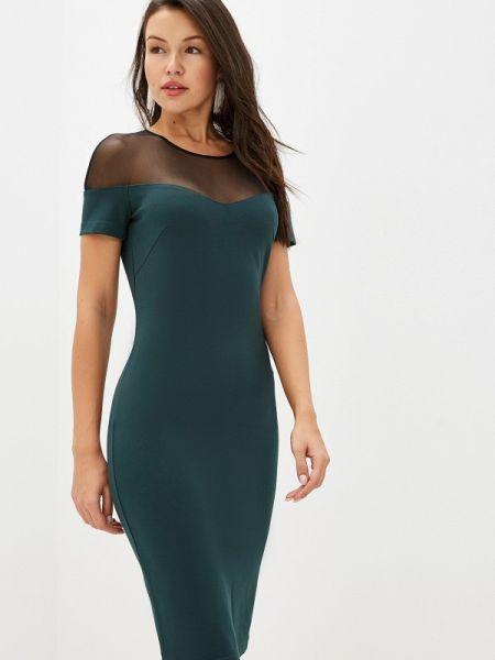 Платье футляр осеннее Raya