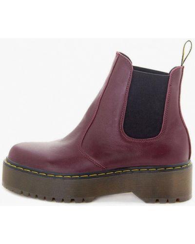Кожаные ботинки - красные Milli Gold