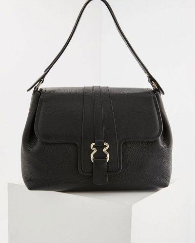 Черная кожаный сумка Tous