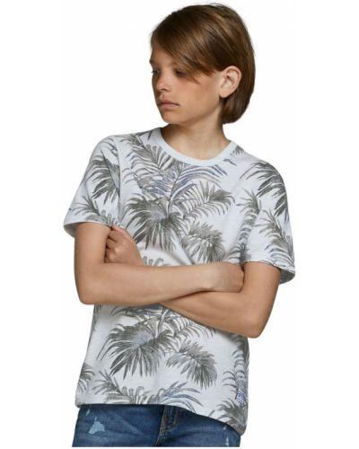 T-shirt - biała Jack & Jones