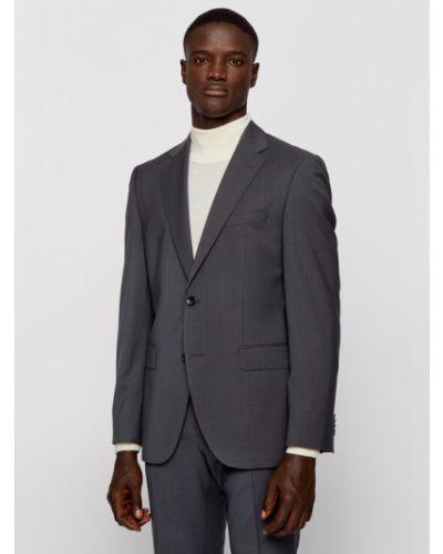 Szary garnitur Boss