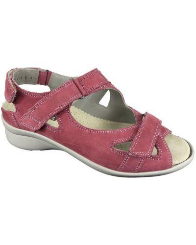 Czerwone sandały Durea