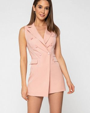 Комбинезон с шортами розовый Itelle