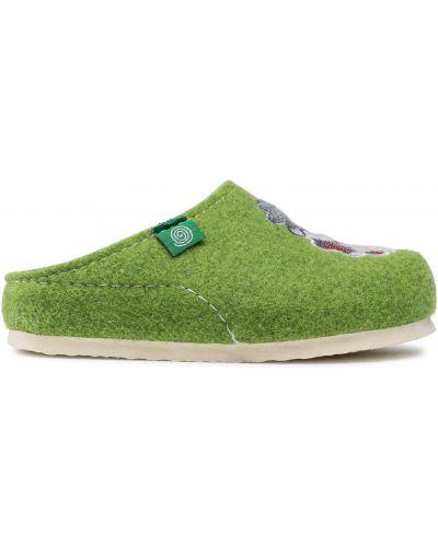 Тапочки - зеленые Dr. Brinkmann
