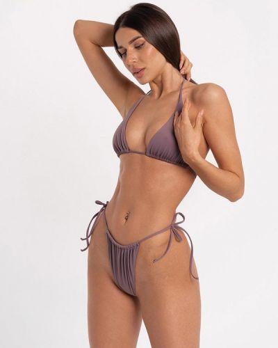 Фиолетовые плавки с завязками Love Pam