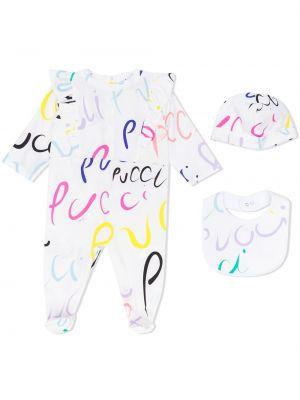 Piżama długo z długimi rękawami Emilio Pucci Junior