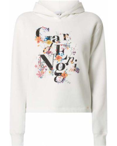 Bluza z nadrukiem z printem - biała Cinque