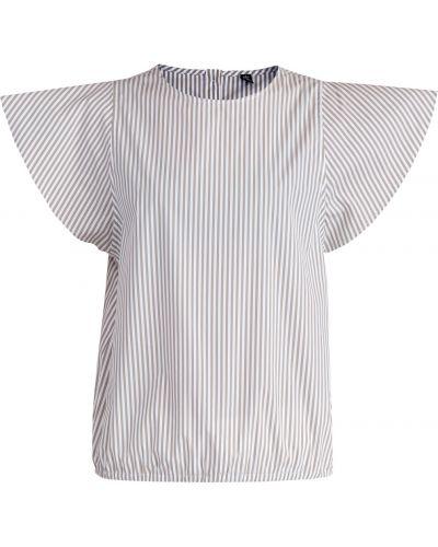 Блузка с пышными рукавами из поплина Eleventy