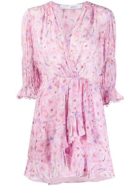 Платье со вставками с V-образным вырезом Iro