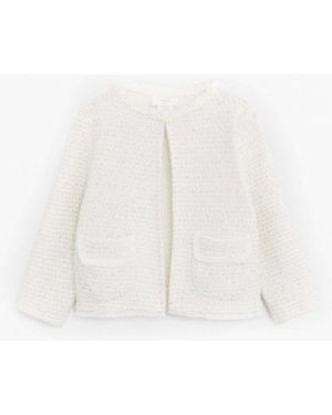 Белый пиджак Mango Kids