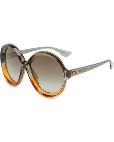 Зеленые солнцезащитные очки Dior