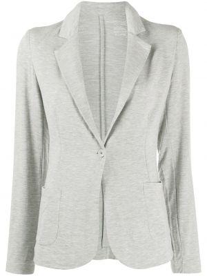 Серый пиджак с карманами на пуговицах Majestic Filatures