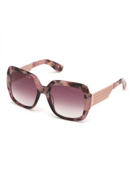 Złote czarne okulary Marciano Guess
