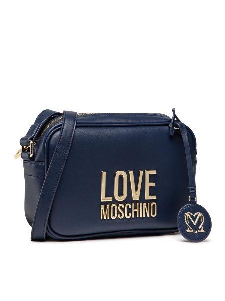 Listonoszka granatowa Love Moschino