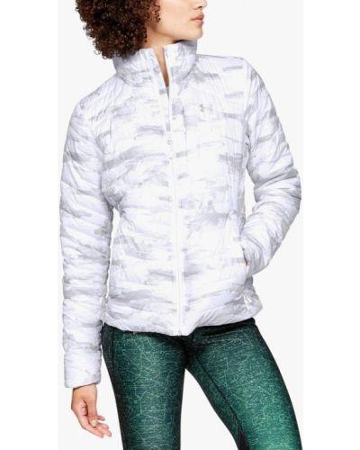 Утепленная куртка весенняя белая Under Armour