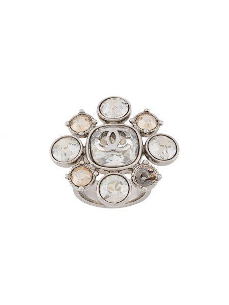 Pierścień ze srebra metal Chanel Pre-owned