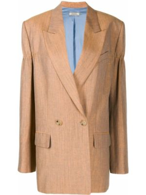 Оранжевая куртка с манжетами на пуговицах с карманами Nina Ricci