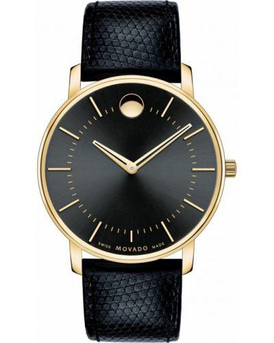 Часы водонепроницаемые швейцарские классические Movado