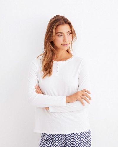 Белая домашняя футболка Women'secret