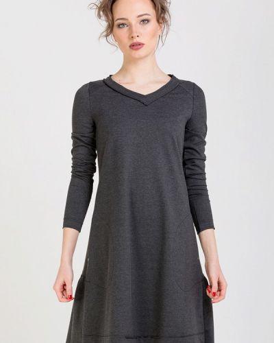 Платье - серое Lada Kalinina